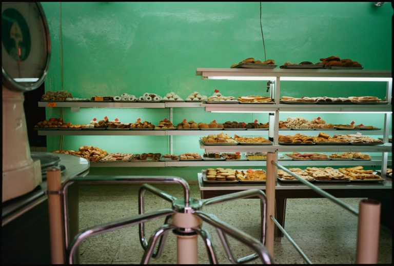 Panaderia Verde, Guanaguato, Mexico Mexican bakery. Winner of the 1997 Ernst Hass 100 top photographers and 1st place Maine Photographic Center Golden Light Award.